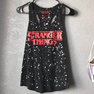 Hot topic fitted stranger things t shirt